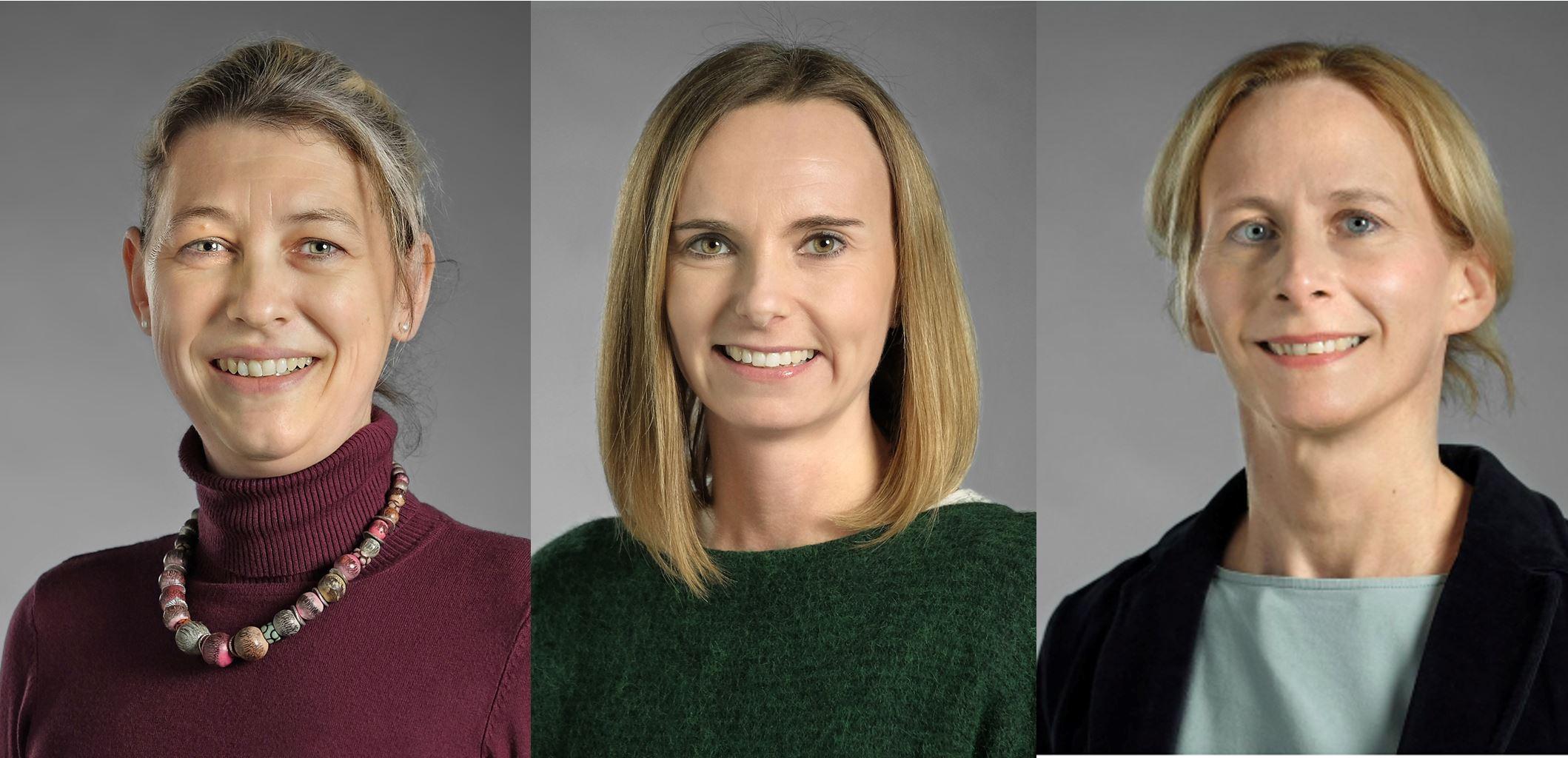 Dr. Astrid Krummenauer-Grasser, Dr. Agnes Jiresch-Stechele, Dr. Karoline Hillesheim