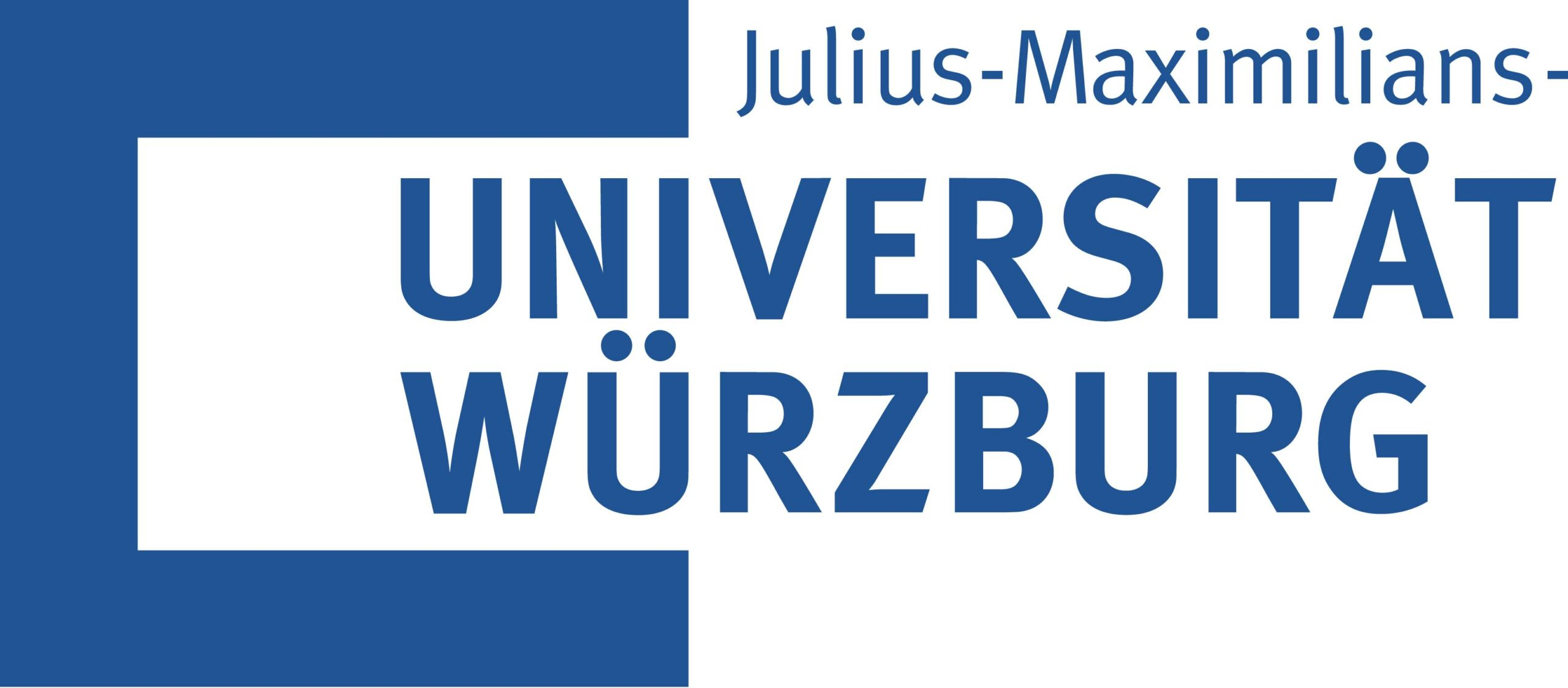 Logo Uni Würzburg mit Weißraum
